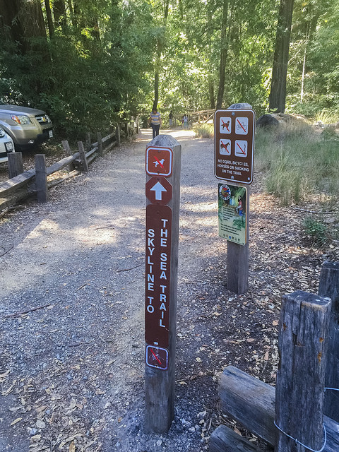 Skyline-to-the-Sea Trailhead